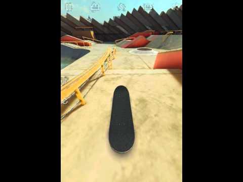 Покатаем на скейте в игре на Android True skate