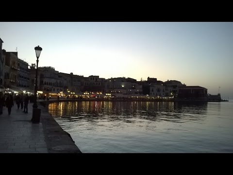From Heraklion Airport to Chania, Crete - Greece 2017 (speed 6x)