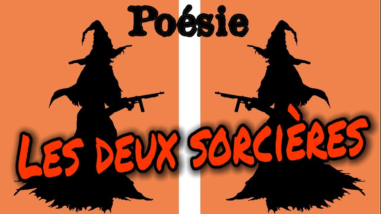 French Poem Les Deux Sorcires 2 From Corinne Albaut