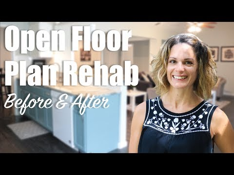How To Make an Open Floor Plan Rehab Before and After (2017)