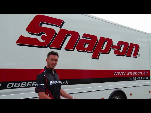 Andre Lotterer Snap-on Tools: There is a Difference