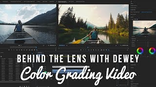 Behind the Lens with Dewey: Ep 4 - Color Grading Video thumbnail
