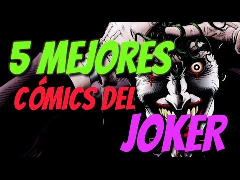 MiniTOP5: Los 5 Mejores Cómics del Joker (CómicXClick)