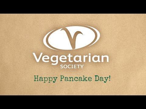 The Vegetarian Society - Pancake Day!
