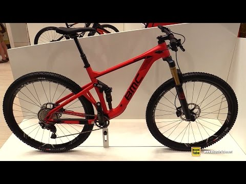 2017 BMC SpeedFox 01 Mountain Bike - Walkaround - 2016 Eurobike