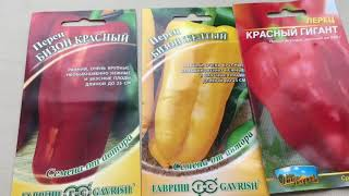 Высокопродуктивные сорта болгарского перца (часть 2)