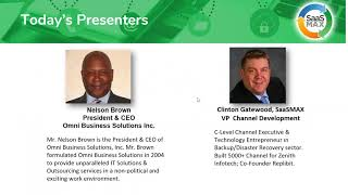 SaaSMAX PartnerPerspectives Featuring Nelson Brown, CEO of Omni Business Solutions, Inc.
