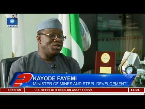 Fayemi Defends Renaming Ministry To Mines And Steel