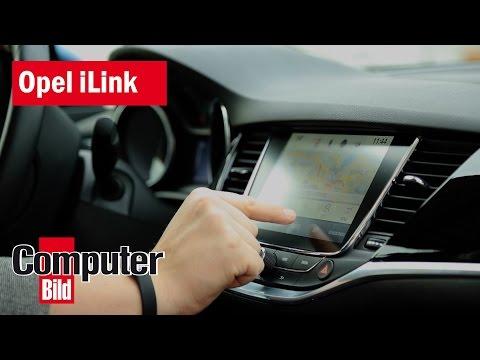 Kampf gegen die Oberklasse: Opel iLink im neuen Astra
