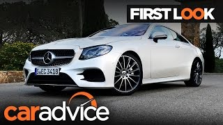 2017 mercedes benz e class coupe first look review   caradvice