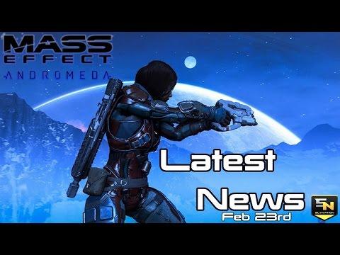 Mass Effect Andromeda | Latest News -Feb 23rd- Media Embargo, Reviews, Multiplayer & More