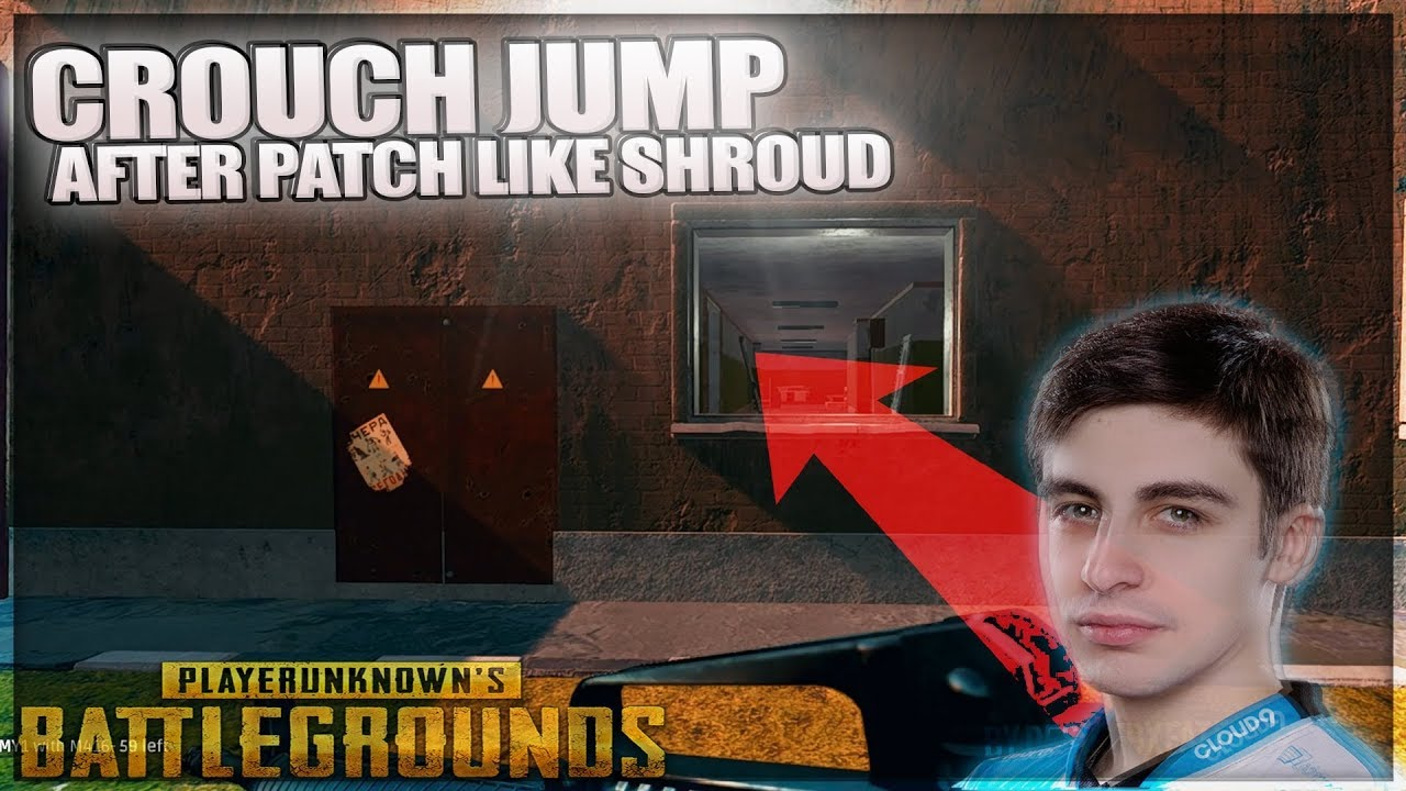 PUBG HOW TO CROUCH JUMP LIKE SHROUD! AFTER SEPT PATCH U
