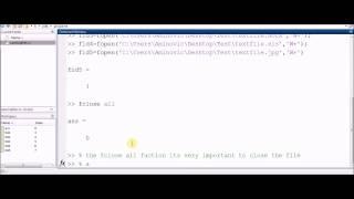 Wie erstellen Sie alle tye von file txt pdf docx ... (Matlab)