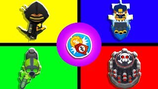 Bloons TD 6 - 4-Player Discount Tower Challenge   JeromeASF