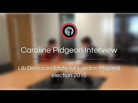 Interview | Caroline Pidgeon London Mayoral election 2016