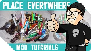 fo4   place everywhere   mod tutorial