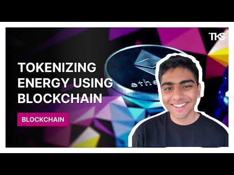 Tokenization Energy Over the Blockchain