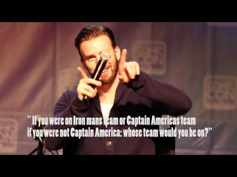 Chris Evans answers fans questions