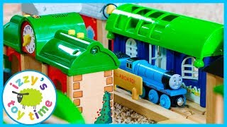 Thomas and Friends Rare Train Station! Fun Toy Trains for Kids