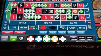 High limit casino action featuring Roulette , £5 spins on Spartacus , Action bank , Black Knight etc