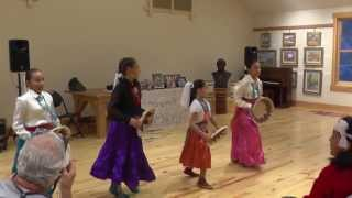 Navajo Girls perform Navajo Basket Dance