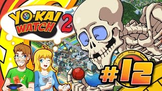 Yo-kai Watch 2 Bony Spirits Walkthrough Part 12 Gutsy Boss Battle (HD)