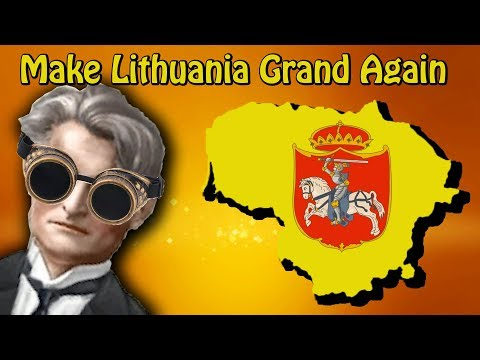 HOI4- MAKE LITHUANIA GRAND AGAIN!! (in less than 12 minutes)