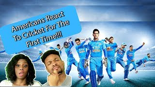 AMERICANS REACT TO CRICKET FOR THE FIRST TIME!!!