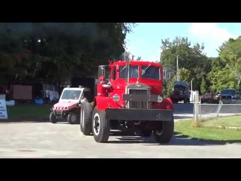 Old Mack Trucks - ATHS Hudson Mohawk 2016