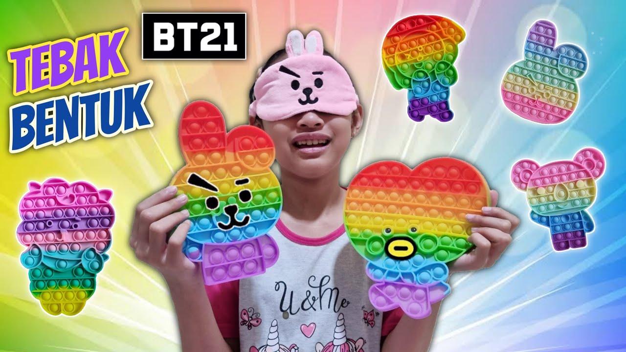 Download Tebak Bentuk Pop It Karakter BT21 Lucu 😄 Dapat Hadiah Kejutan | Aqilla's Diary