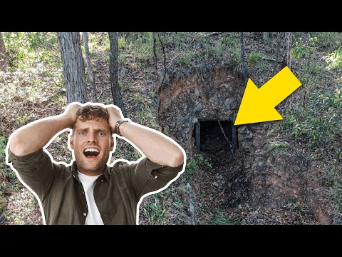 Man Finds Gold Mine On Property, Goes In And Realizes Hes Made A Huge Mistake