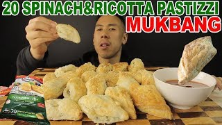 [MUKBANG] 20 PASTIZZI (SPINACH&RICOTTA) FAMILY PACK-SUPER CRUNCHY