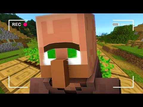 Starving this Minecraft villager for 24 hours..