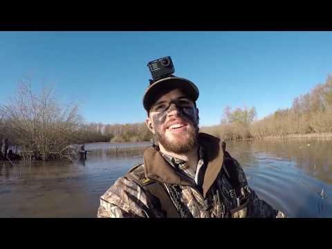 Shooting BIG Mallards On Louisiana Public Land