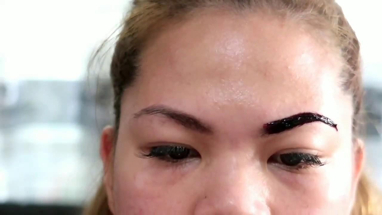 How To Use Bigen For Eyebrows Tagalog Debbiesantosvlogs Youtube