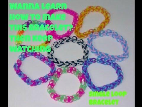 Single Loop Bracelet