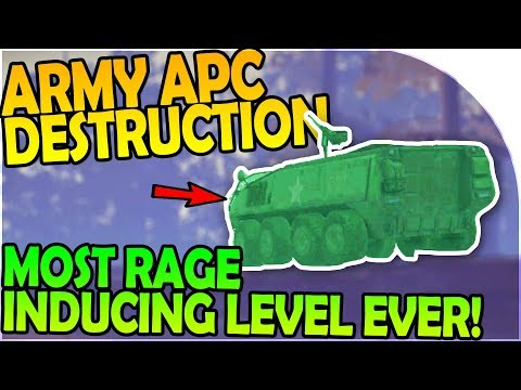 MILITARY APC DESTRUCTION + MOST RAGE INDUCING LEVEL EVER- Into the Dead 2 Gameplay ( Android / iOS )