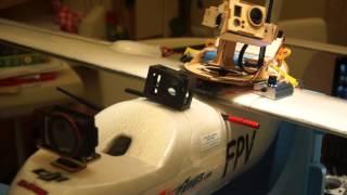 Обзор Защитных блоков (карбон, фанера) для камеры GoPro на примере Skyhuntera