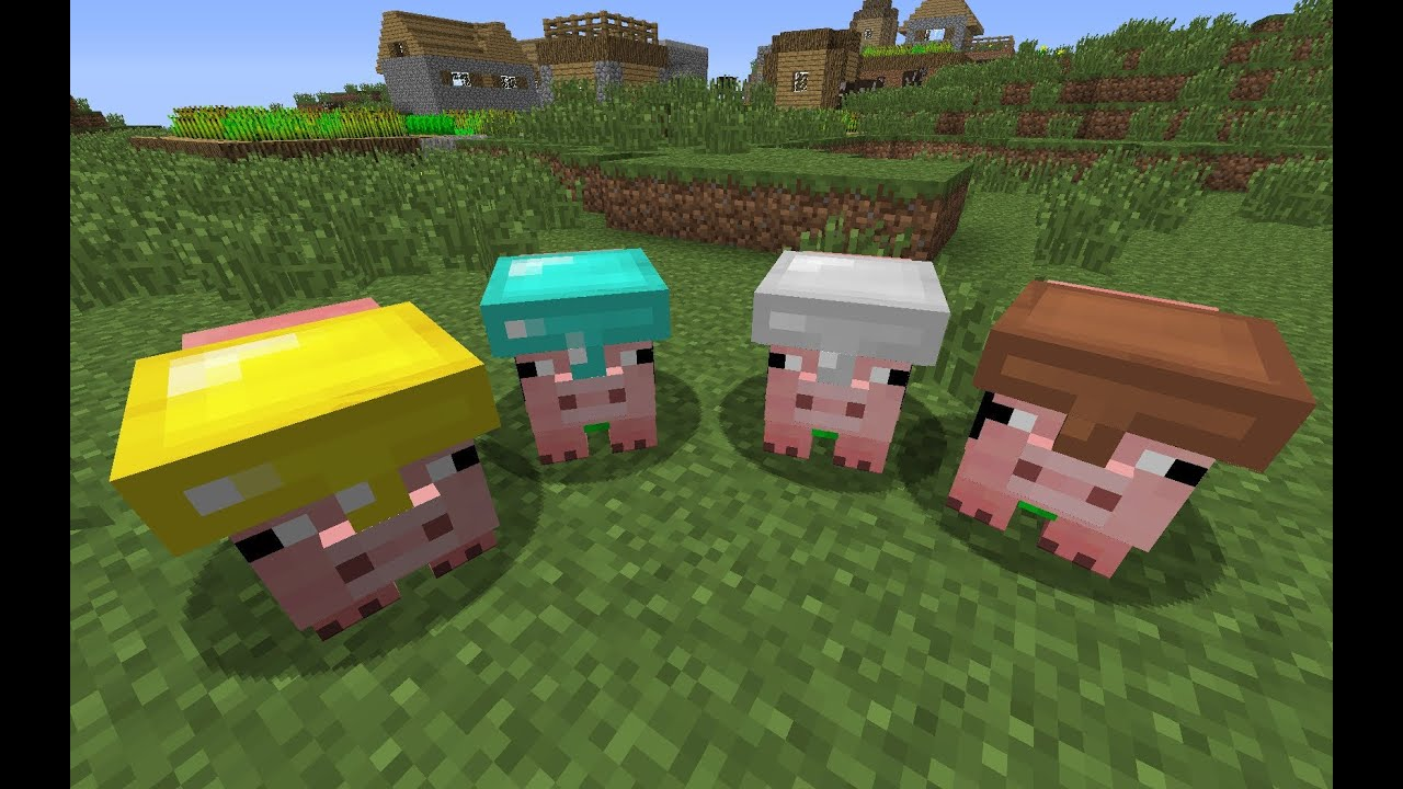 minecraft pig companion mod review 1 4 6 youtube