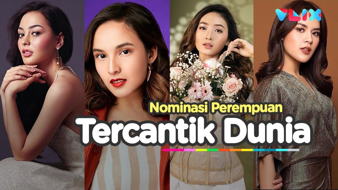 6 Artis Indonesia Masuk Nominasi Wajah Tercantik Sedunia Youtube