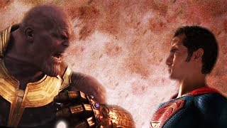 Superman vs Thanos