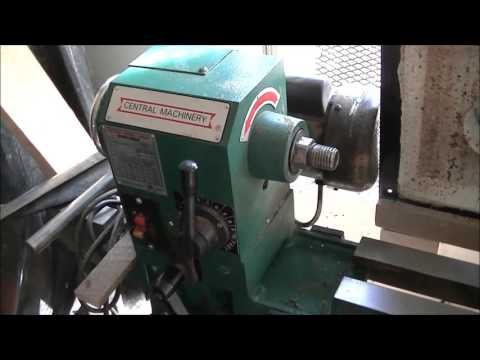 Woodturning, Harbor Freight Lathe Review 12X36