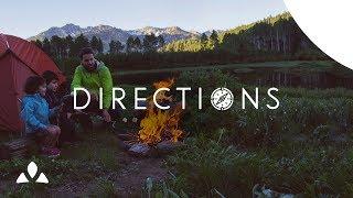 Directions - An outdoor family adventure | VAUDE