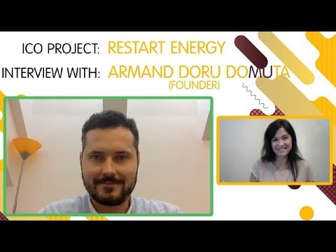 "ICO "" RESTART ENERGY"" interview with  Armand Doru Domuta [ENG]"