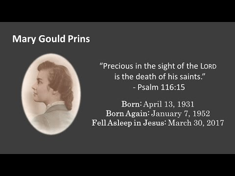Mary Prins Funeral