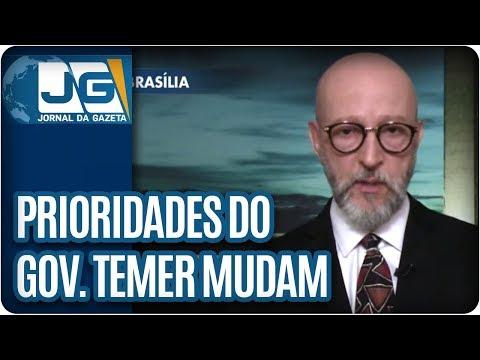 Josias de Souza/Prioridades do governo Temer mudam atrás de votos