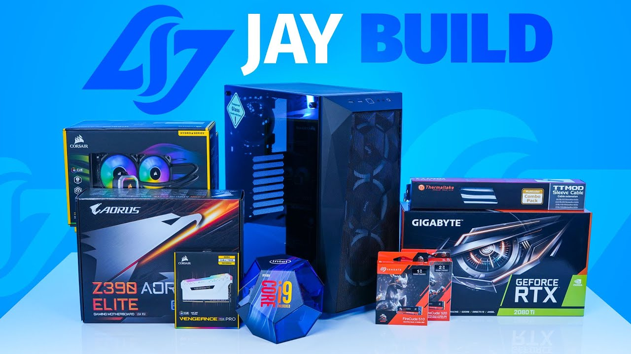 Download How to Build a PC - CLG Jay PC - Giveaways + $3200 Build  ( I9-9900K / 2080 Ti)
