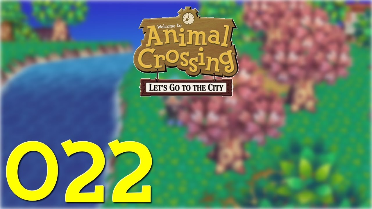 Lets Play Animal Crossing Lets Go To The City 22 Hd Der