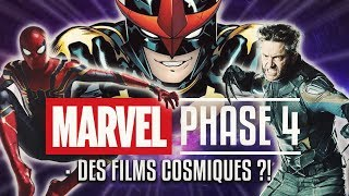 MARVEL Les Films De La PHASE 4