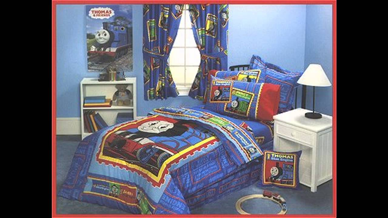 Thomas the train bedroom decorations ideas - YouTube